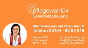 Pflegewohl24 hilft Ihnen bei der Suche der richtigen 24h Pflegekraft.